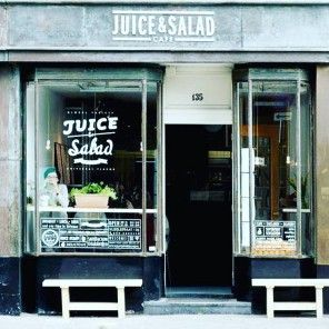 Juice and Salad